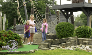 Families will have the opportunity to enjoy free mini golf and many other exciting activities as a part of Family Fun Day: Business Open House & National Night Out on Tuesday, August 4, 2015. Family Fun Day is an annual event hosted by the Dearborn Area Chamber of Commerce to promote safe family fun.