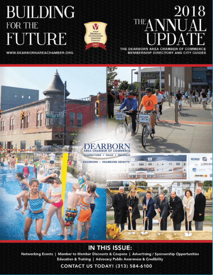 View the 2018 Dearborn Area Chamber of Commerce Business Resource Guide